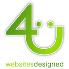 Websites Designed 4U logo