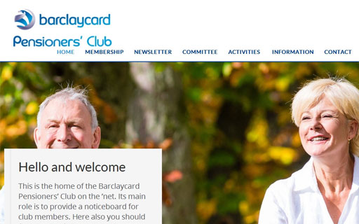 Barclaycard Pensioners' Club Thumb