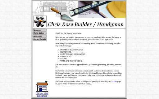 Chris Rose Builder Thumb