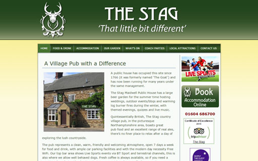 The Stags Head Thumb